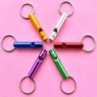 Multi-function Metal Whistle Key Ring WPJJ008
