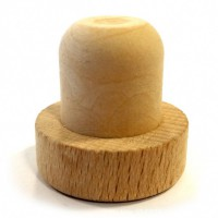 Natureal Wooden Corks Stopper With Red Wine WPZL7043