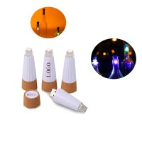 LED Wine Bottle Stopper Cork Light Up WPZL8035