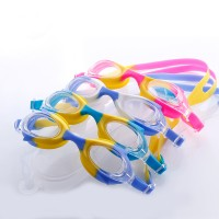 Anti-fog colorful Swim Goggles For Kids WPZL8043