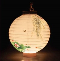 8 Inach Printable LED Paper lantern WPZL7101