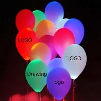 "12 "" LED Light Latex Balloon WPZL7118"