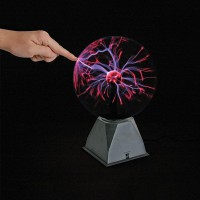 USB Magic Crystal Globe Desktop Light Lightning Lamp Plasma Ball Sphere WPZL7065