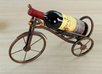 Plating Iron Tricycle Wine Bottle Holdes And Wine Racks WPZL7052
