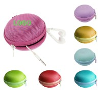 Global EVA Earbud Pouch Coin Purse With Zipper WPZL142
