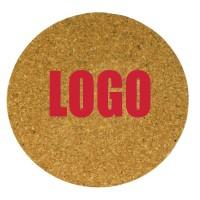 Wooden Round coaster WPZL163