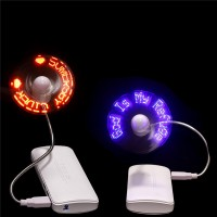 USB LED Message Flex Fan WPRQ9011