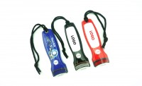 PVC LED Torch Keyring WPJL9025