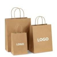 White Kraft Paper shopping Bags WPJL9029