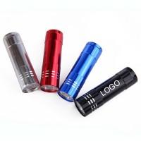 9 LED Pocket Aluminum Flashlight  WPKW194