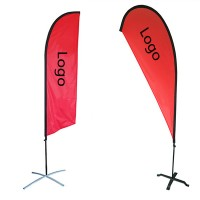 Beach Banner or Trade Show Promotional Flag WPRQ9002