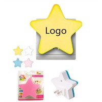 Star-shaped Plug-in Night Lamp 4 colors WPRQ9007