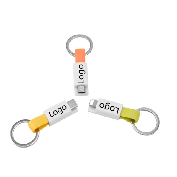 Magnetic Key Ring Ready Charge Portable Charging Cable WPRQ9032