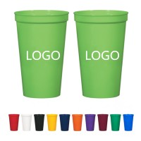 20 OZ Reusable plastic Stadium Cup WPRQ9063