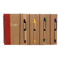 Promo Write Recycled Notebook with pen WPRQ9088
