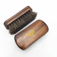 Wood horsehair Shoe Shine Brush WPRQ9091