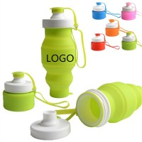 Folding Sports Cup Silicone Bottle WPRQ9108