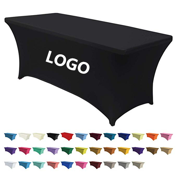 Stretch Fit, 8′ All Over Full Color Table Cover WPRQ9112