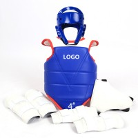 Adult&Children Taekwondo Protections Equipment Body Protector Full Set    WPRQ9135