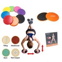 Yoga Dual Sided Fitness Gliding Discs WPRQ9152