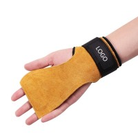 Leather Gymnastics Hand Grips Gloves WPRQ9156