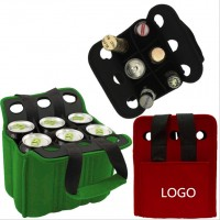 6 pcs Neoprene Champagne Wine Bottle Sleeve WPRQ9169