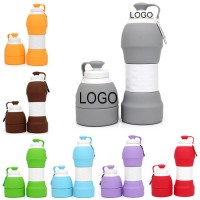 Silicone Collapsible Drinking Bottle WPAL043