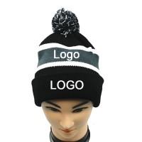 Knit Beanie W/ Pom Pom WPAL060