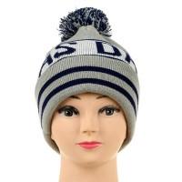 Promotional Custom Knit Pom Beanie With Cuff WPAL061