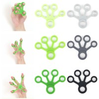 Silicone Finger Strength Exerciser for Health WPAL8008