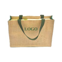 Jute Grocery Tote Bag WPAZ002