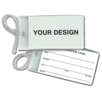 Bag & Luggage Tag – Business Card Insert WPAZ033