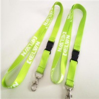 "5/8"" Polyester Heat Transfer Print Lanyard with Release buckle WPAZ080"