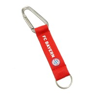 "3/4"" Silkscreen Carabiner with Lanyard and Ring WPAZ085"
