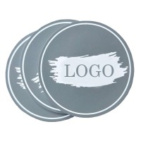 Custom Soft PVC Coaster A Variety Of Colors WPCL8001