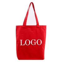 Flat Canvas Custom Tote Bags WPCL8014