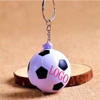 PU Soccer Ball Key Chain Stress Ball WPCL8026