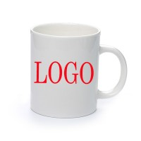 White Promotional Ceramic Mug – 11 oz. WPCL8034