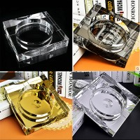 Square Crystal Ashtray WPCL8050