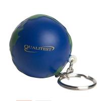 Global stress ball Key ring WPES8038