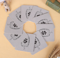 3.5″ Square Absorbent Paper Coaster WPES8061