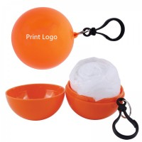 Disposable Poncho in Round Case WPGF007