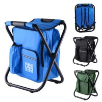 Backpack Foldable Chair W / Cooler Bag WPHZ040