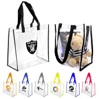 Clear PVC Stadium Tote Bag WPHZ062