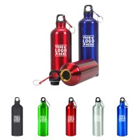 Aluminum Sports Water Bottle w/ Carabiner WPHZ072