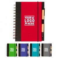The Eco Spiral Notebook with Pen WPHZ103