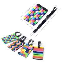 Tetris luggage tag W/ Strap WPHZ114