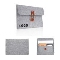 Felt Laptop Sleeve W/ Insert Pocket WPHZ121