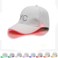 LED Light Up Cotton Baseball Cap Hat WPHZ137