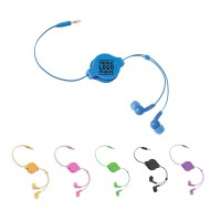 Retractable Stereo Earbuds  WPHZ193